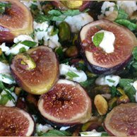 Minted Fig And Feta Salad recipe