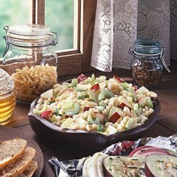 Pears Pasta And Pecan Salad