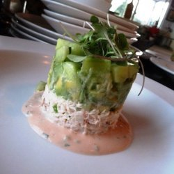 Crab Louie Stacks