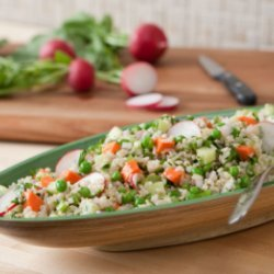 Vegelicious Brown Rice Salad