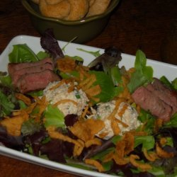 Creole Surf And Turf Salad recipe