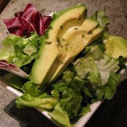 Mixed Greens And Avocado Salad