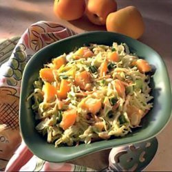 Apricot And Cabbage Coleslaw recipe