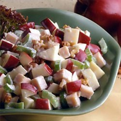 Waldorf Swiss And Turkey Salad