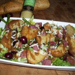 Radicchiolously Delizioso Asparagus Salad With Che... recipe