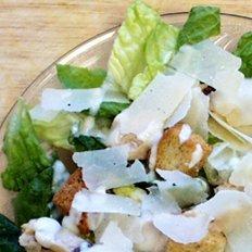 Healthy Turkey Caesar Salad
