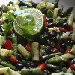 Southwestern Three Bean Salad