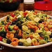 Tortellini With Meat And Vegetables Cold Salad recipe