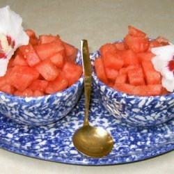 Sangria Watermelon Salad