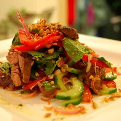 Beef Salad With Roasted Peanut