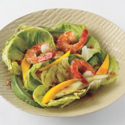 Shrimp, Mango, and Avocado Salad with Sweet Chili-Ginger Vinaigrette
