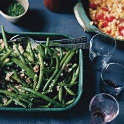 Green Beans with Sweet Onion Vinaigrette