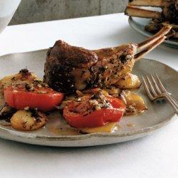 Provençal Rack of Lamb