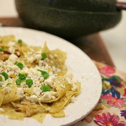 Chicken with Chilaquiles and Salsa Verde