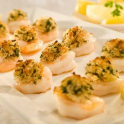 Shrimp with Garlic and Toasted Bread Crumbs