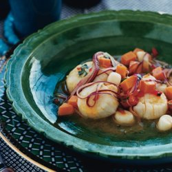 Scallop Ceviche with  Tiger's Milk  recipe