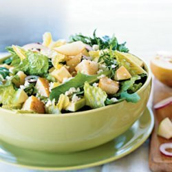 Pear Salad With Red Wine Vinaigrette
