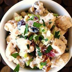 Cranberry Walnut Chciken Salad