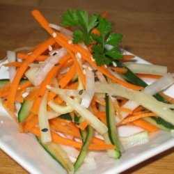 Cucumber - Root Salad