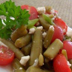 Green Bean, Tomato, And Feta Salad recipe