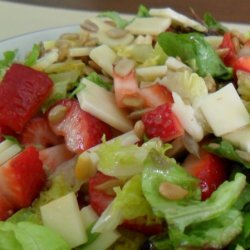 Petite Artisan Lettuce And Strawberry Chopped Sala... recipe