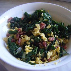 Warm Bacon And Silverbeet Salad