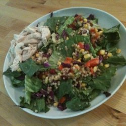 Couscous, Chicken And Greens Salad