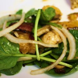Spinach Salad With Champagne Vinegar Dressing