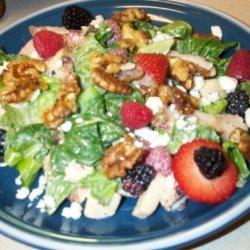 Summer Berry Chicken Salad recipe