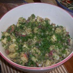 Traci's German Summer Potato Salad recipe