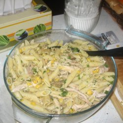 Easy Chicken Pasta Salad