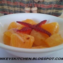 Mom's Orange Salad (insalata Di Arance) recipe