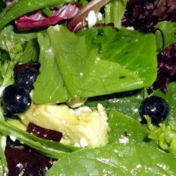 Spinach With Lime & Honey Dressing recipe