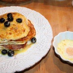 Ricotta Hotcakes With Orange Maple Butter