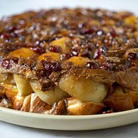 Baked Breakfast Apples With French Toast Crust