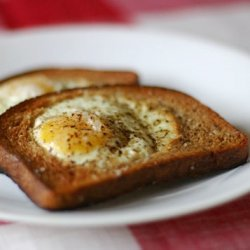Egg In The Middle Of The Toast
