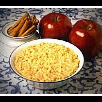 Overnight Crockpot Oatmeal With Apples