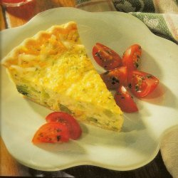 Broccoli Ham And Cheese Quiche recipe