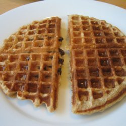 Low - Fat Vegan Wholegrain Waffles