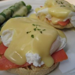 Eggs Benedict With Smoked Salmon Capers And Dill
