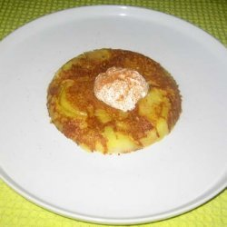 Spicy Honey Apple Pancake recipe
