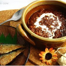 Champorado Chocolate Rice Pudding