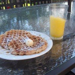 Healthy  Amazing Vegan Waffles