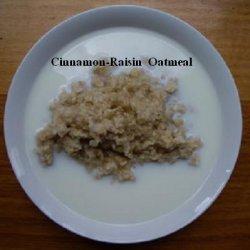 Cinnamon-raisin Oatmeal