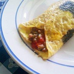 A Natto Omelette