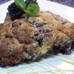 Fresh Blackberry White Chocolate Scones recipe