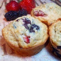 Banana Berry Mega Muffins recipe