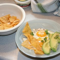 Huevos Rancheros With Homemade Tortilla Chips