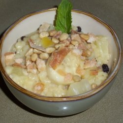 Tropical Breakfast Orzotto recipe