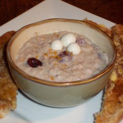 Creamy Cranberry Oatmeal recipe
